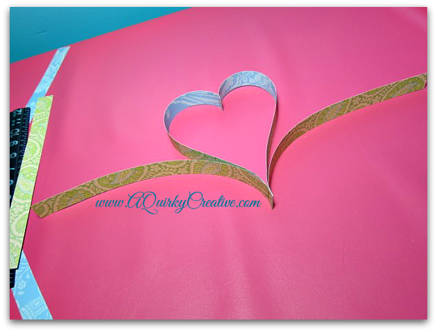 "Heart Garland 12"" Strips"