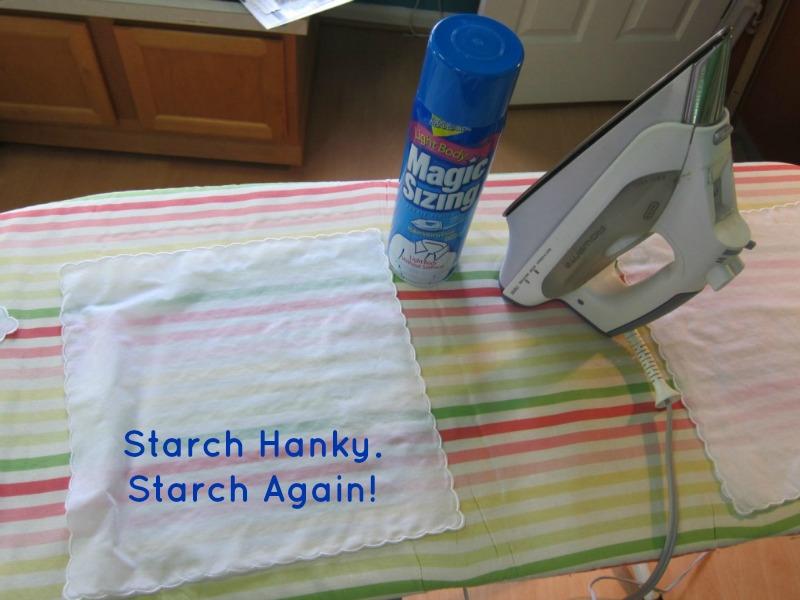 Starch Hanky Twice~