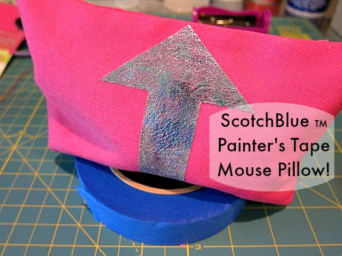 ScotchBlue TM Painters Tape Project_MousePillow