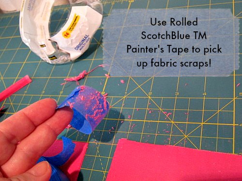 "The Secret of a Straight Arrow!  ScotchBlue TM Painter's Tape!  (.94"" wide.)"