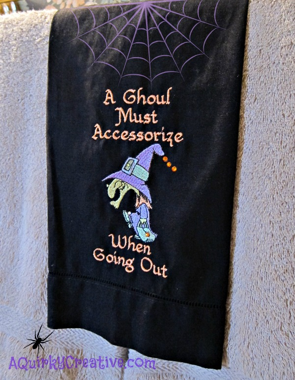 Ghoul Witch Towel