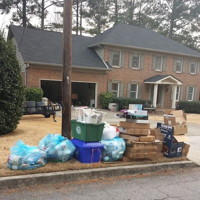 Recycling in Dunwoody