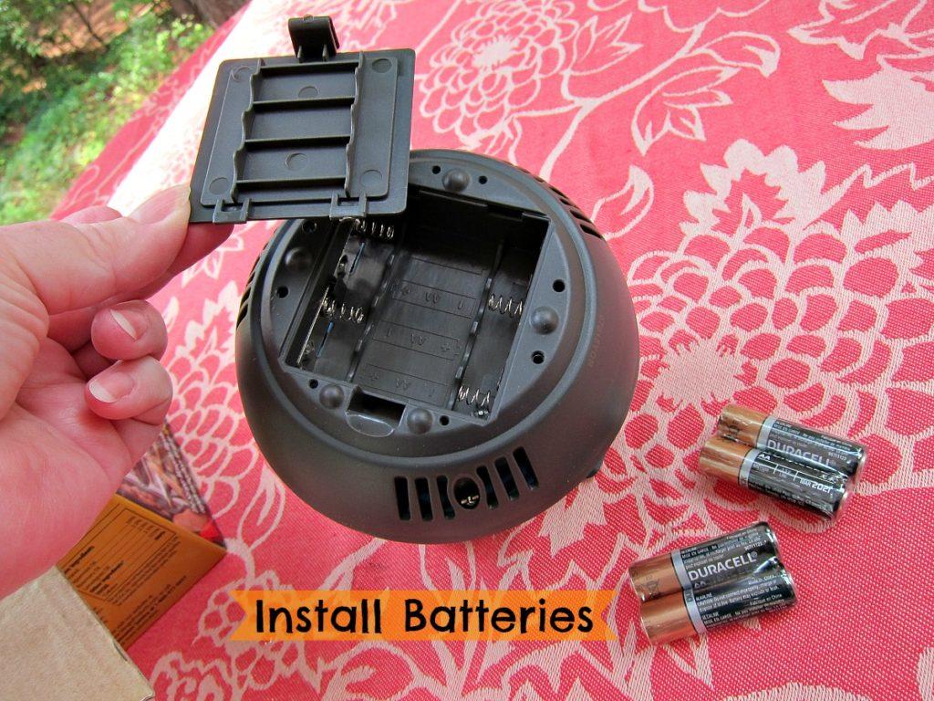 Install Batteries